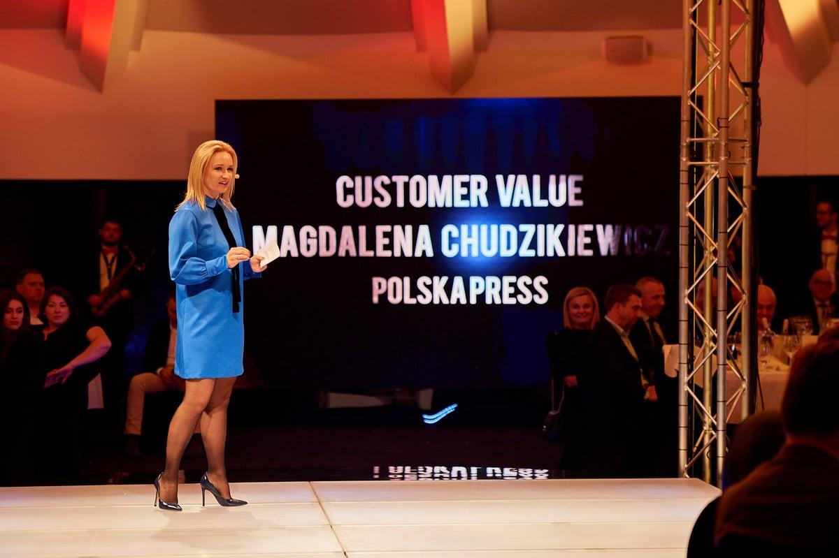 Magdalena Chudzikiewicz podczas Digital Excellence Awards 2017